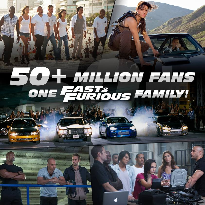 Fast & Furious 50 Million