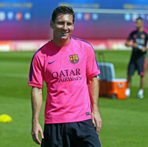 Leo Messi 31Aug2014