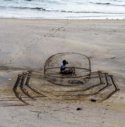 3D Sand Art by Jamie Harkins 10