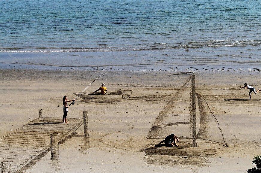 3D Sand Art by Jamie Harkins 11