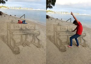 3D Sand Art by Jamie Harkins 14