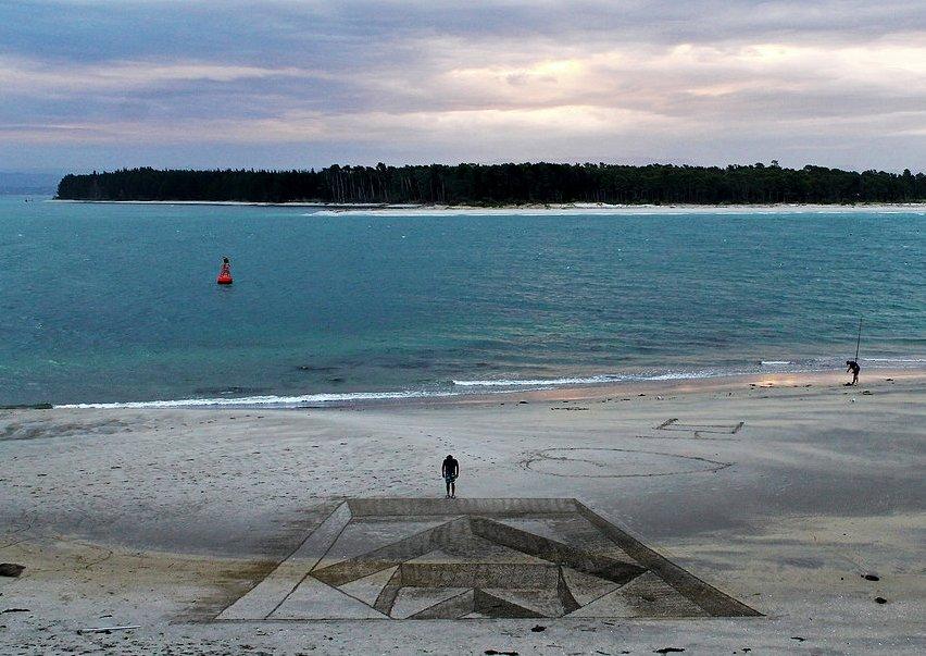 3D Sand Art by Jamie Harkins 3