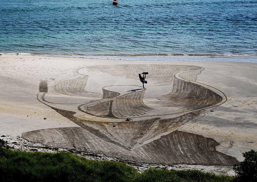 3D Sand Art by Jamie Harkins 4