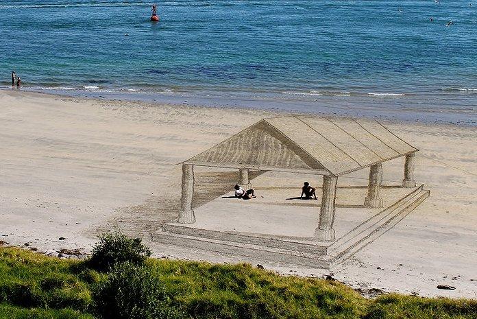 3D Sand Art by Jamie Harkins 5