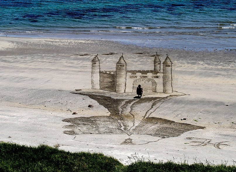 3D Sand Art by Jamie Harkins 8