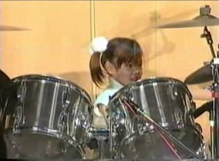 Japanese Kid Drummer Senri Kawaguchi Age 5
