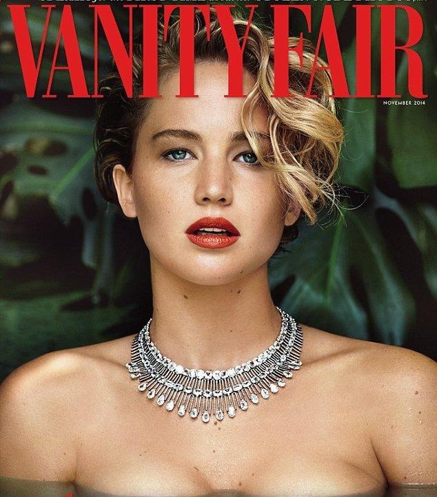 Jennifer Lawrence Topless Vannity Fair