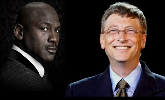 Michael Jordan vs Bill Gates