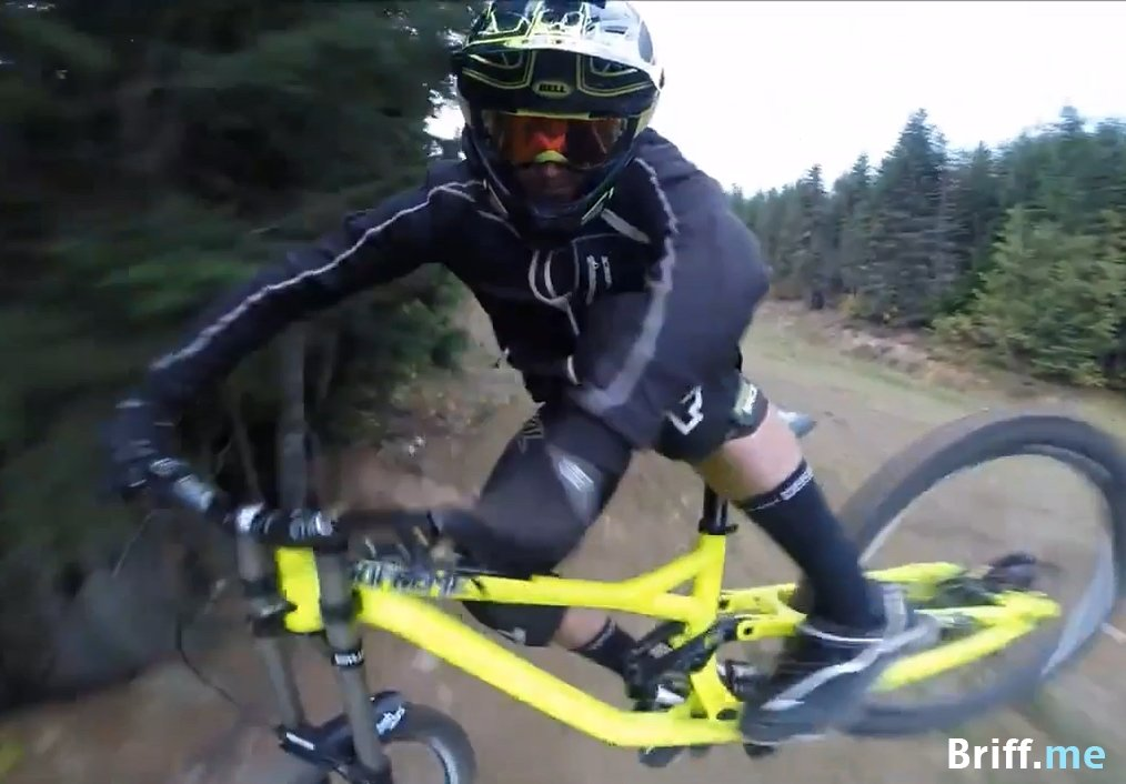 Mountain Biking Selfie Video