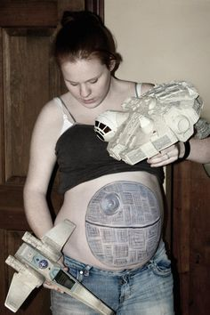 Star Wars Pregnant Halloween Costume