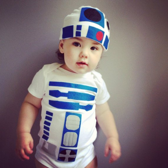 Star Wars Baby R2D2 Halloween Costumes 1
