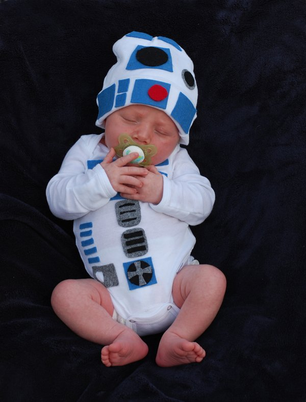 Star Wars Baby Halloween R2D2 Costumes 10