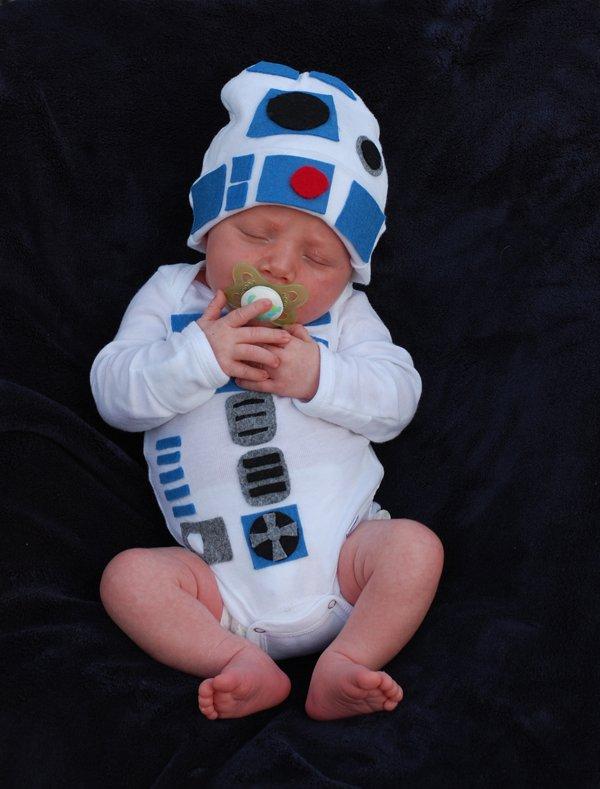 Star Wars Baby Halloween R2D2 Costumes 10