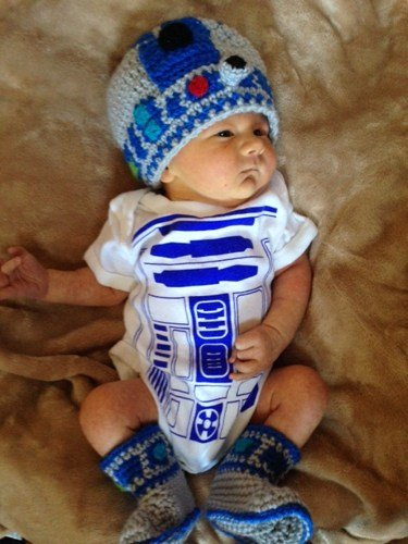 Star Wars Baby R2D2 Halloween Costumes 11