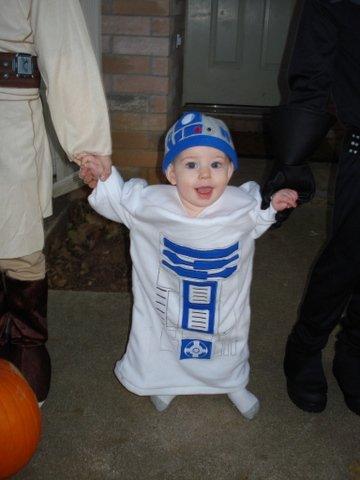 Star Wars Baby Halloween R2D2 Costumes 12