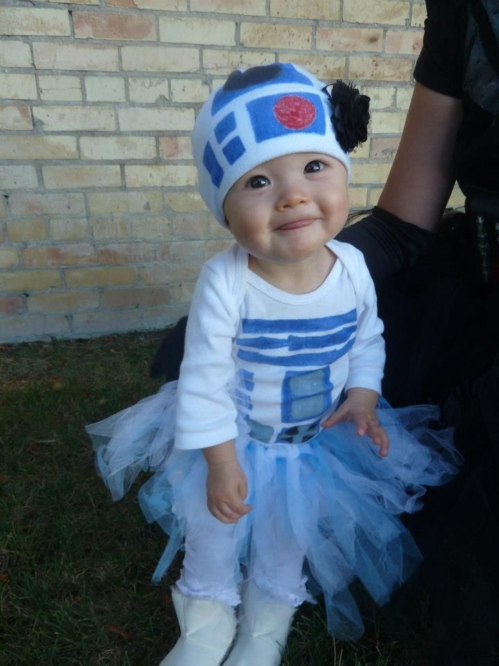 Star Wars Baby R2D2 Halloween Costumes 2