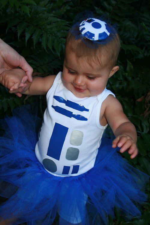 Star Wars Baby Halloween R2D2 Costumes 3