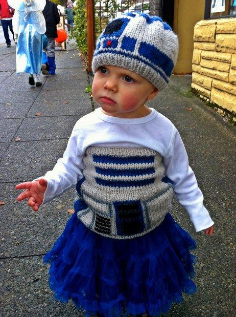 Star Wars Baby R2D2 Halloween Costumes 4