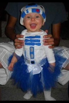 Star Wars Baby R2D2 Halloween Costumes 5