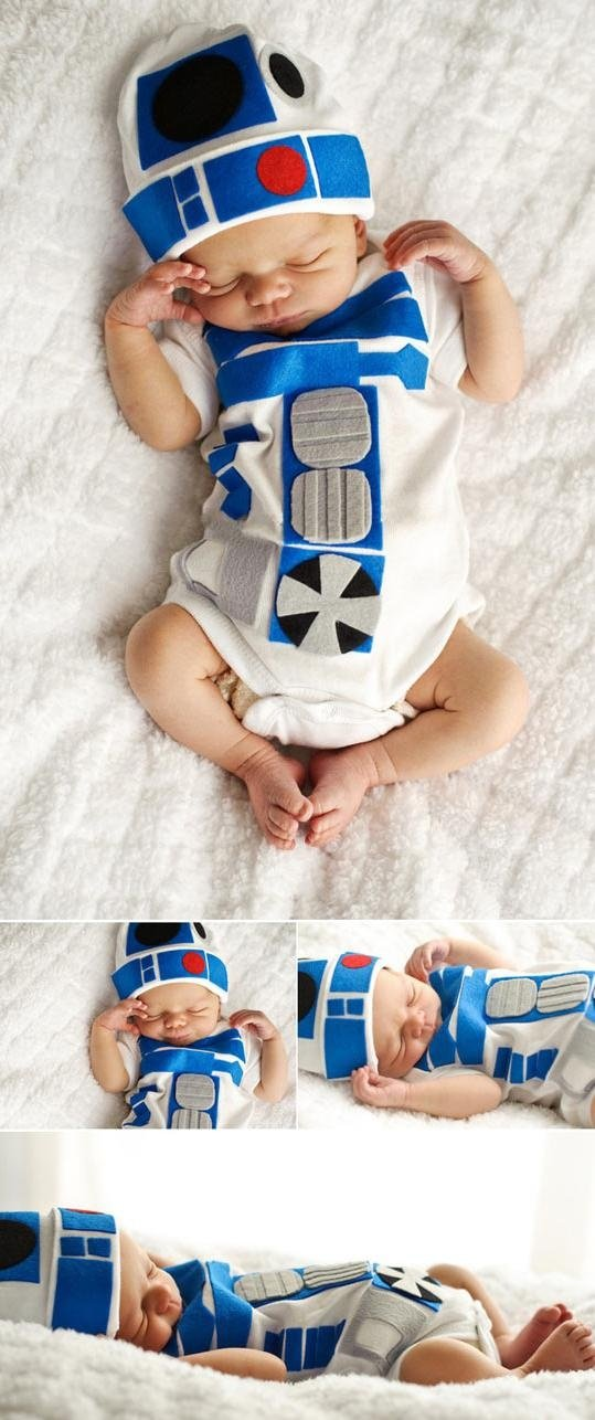 Star Wars Baby R2D2 Halloween Costumes 6