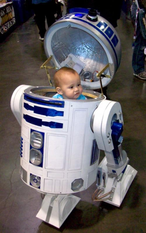 Star Wars Baby Halloween R2D2 Costumes 7