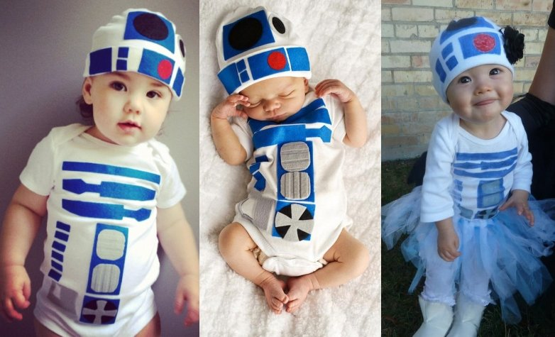 Star Wars Baby Halloween R2D2 Costumes