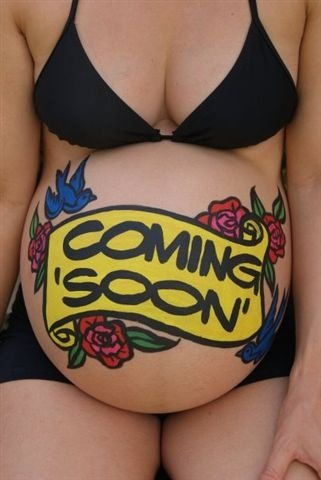 Belly Bump Makeup Coming Soon