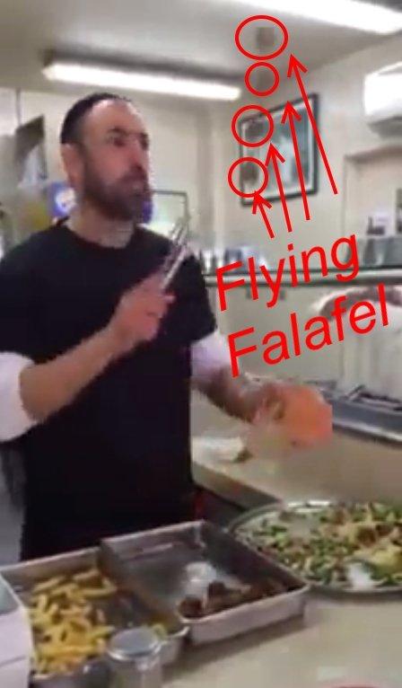 Dough Tricks - Flying Falafel