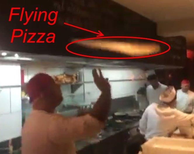 Dough Tricks - Flying Pizza