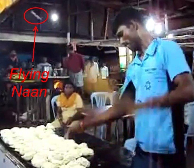 Dough Tricks - Flyinh Naan