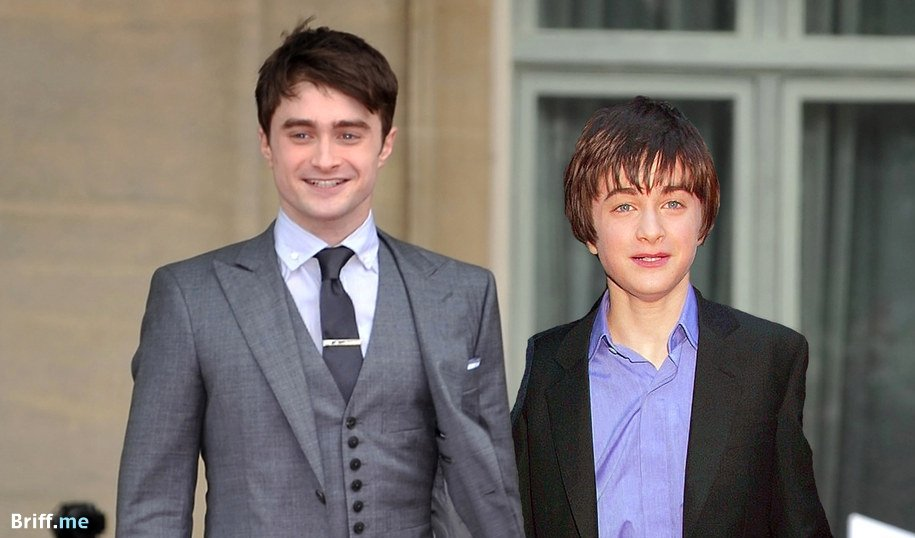 Harry Potter Cast Before and After