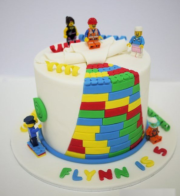 Lego Cake 1 Birthday Idea