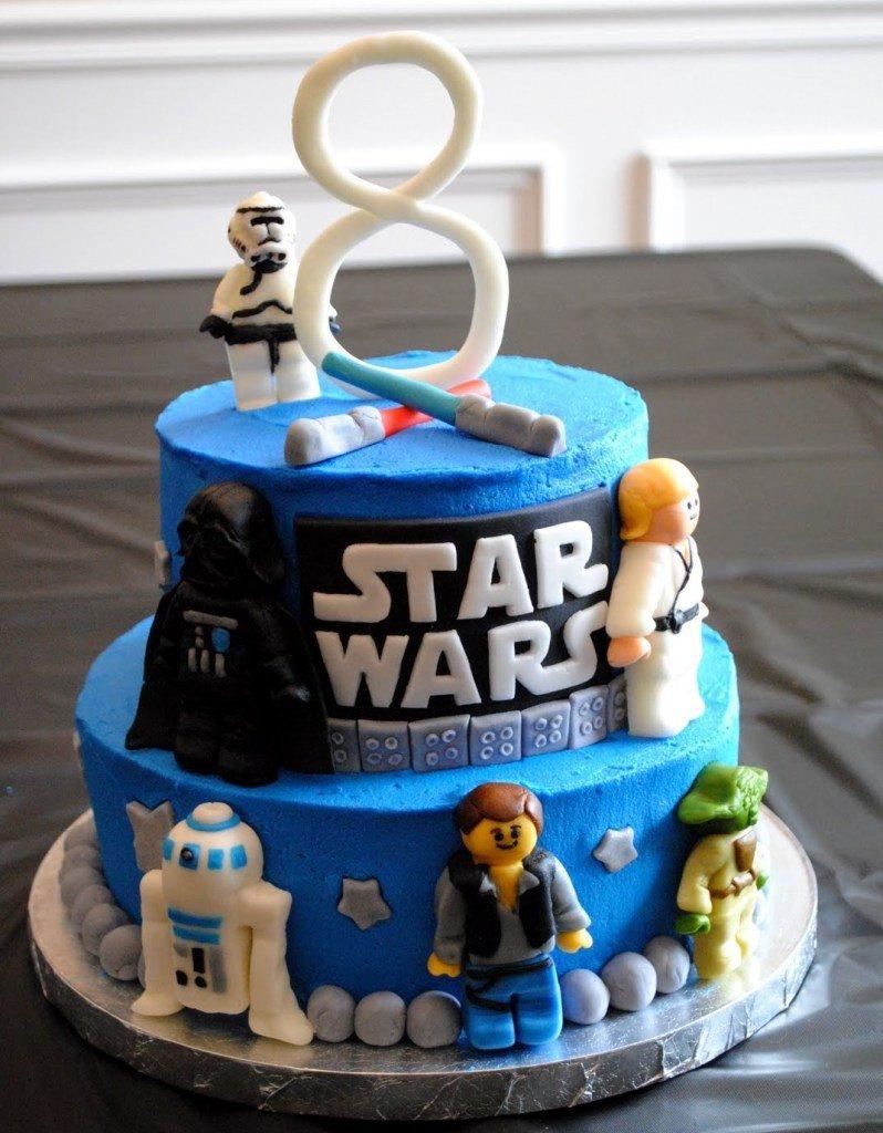 Lego Cake 10 Star Wars
