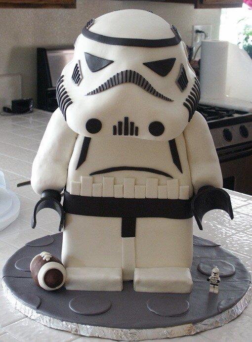 Lego Cake 11 Star Wars Stormtrooper