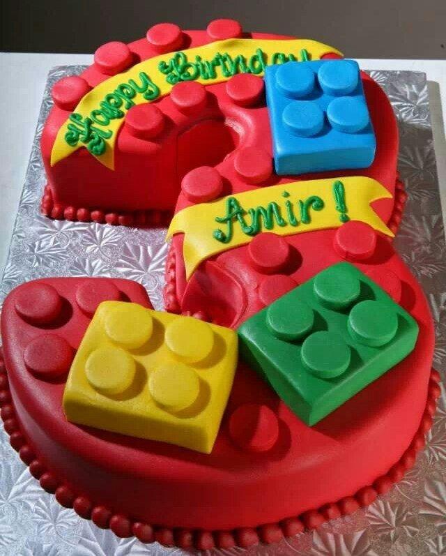 Lego Cake 13 Birthday Clssic Idea
