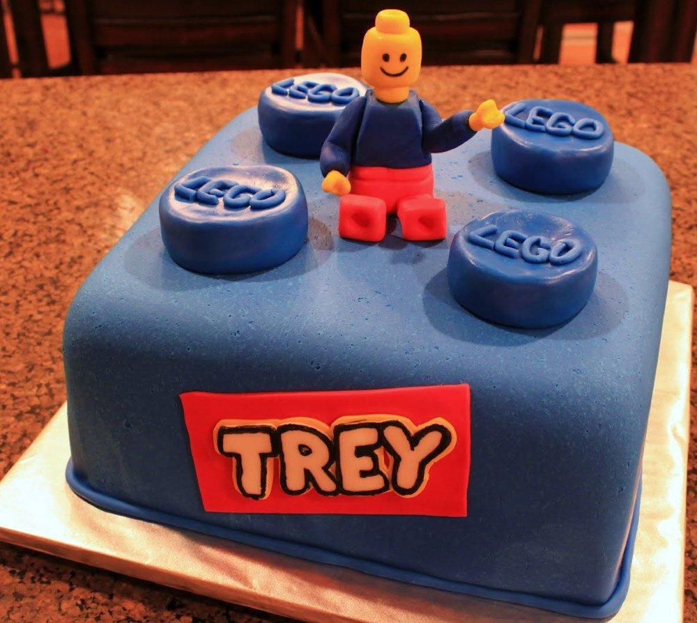 Lego Cake 14 Best Birthday Idea