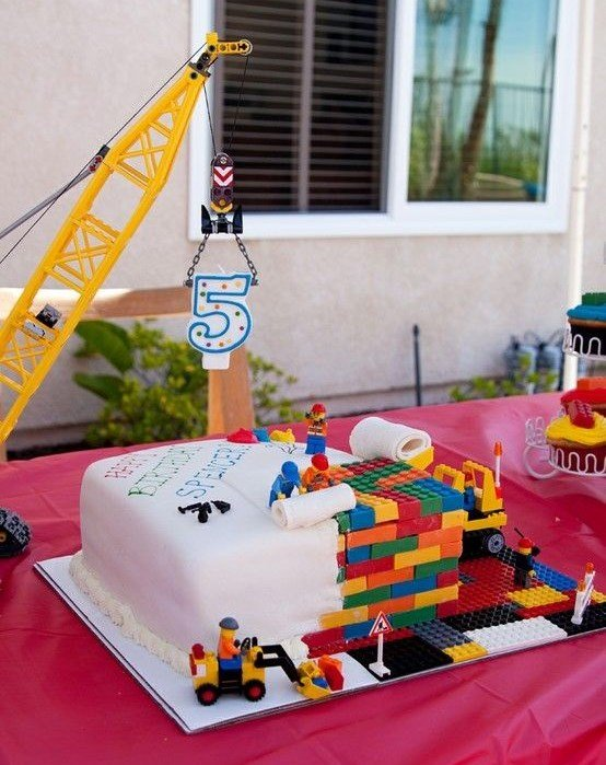 Lego Cake 2 Birthday Idea