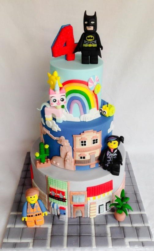 Lego Cake 3 Lego Movie