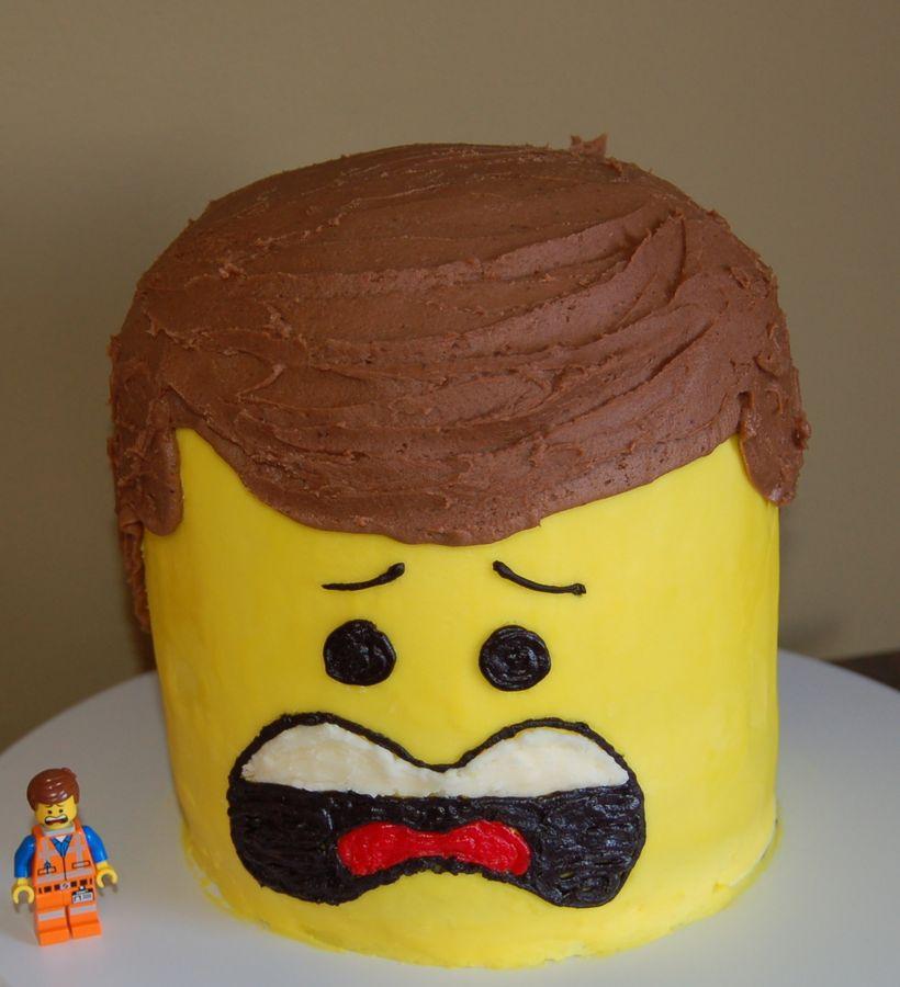 Lego Cake 5 Lego Movie Emmit Funny