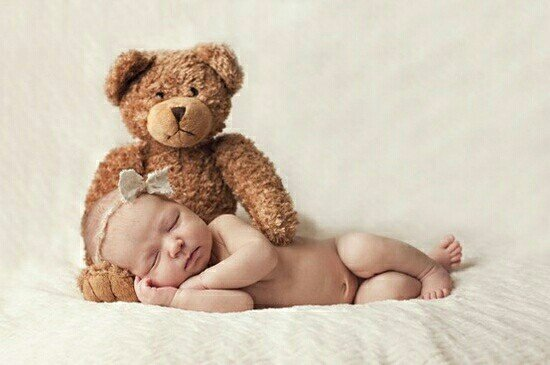 Newborn Photo Ideas - Teddy