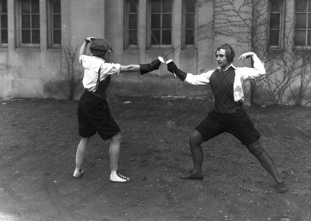 Old Sports 20 - Vintage Fencing