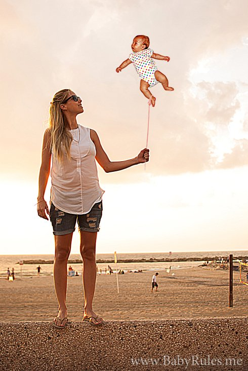 Parenting Photos 10 - Baby Gas Baloon