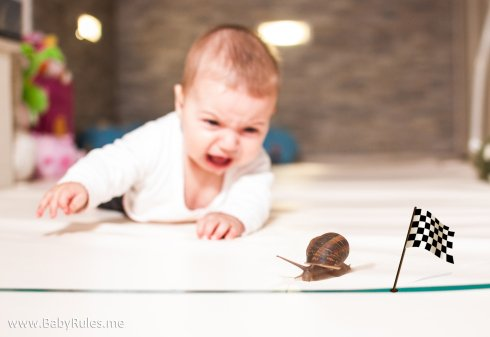 Parenting Photos 11 - Snail Crawl