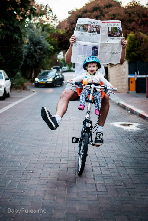 Parenting Photos 15 - Baby Riding Bicycle