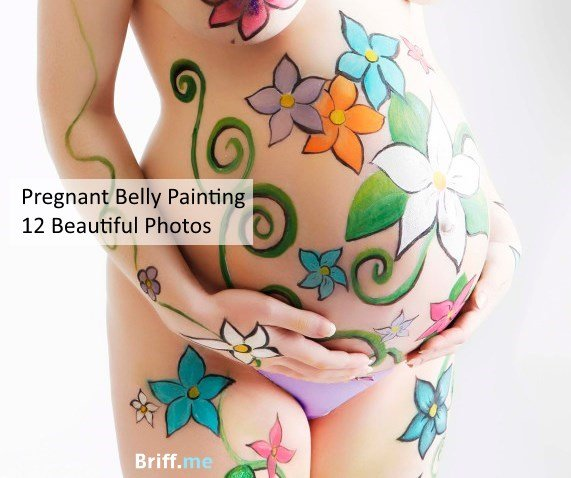 Pregnant belly painting special briff for Maternity belly painting