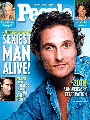 Sexiest Men 2005 Matthew McConaughey