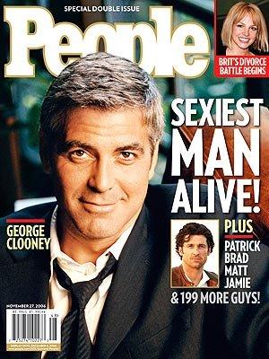 Sexiest Men 2006 George Clooney