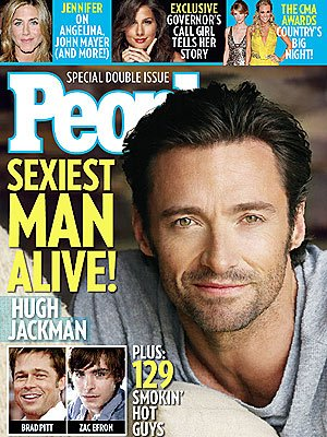 Hottest Man 2008 Hugh Jackman