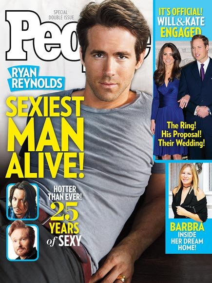 Hottest Man 2010 Ryan Reynolds
