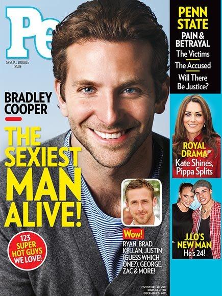 Sexiest Men 2011 Bradley Cooper
